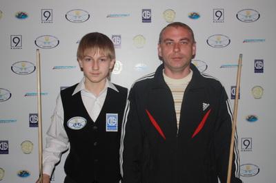 Хорошун Кирилл и отец