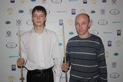 Саенко Александр и отец