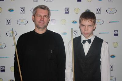 Шкатов Даниил и папа